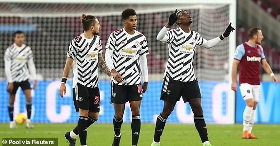 MU ngược dòng khó tin hạ West Ham vào Top 4 Premier League - ảnh 5