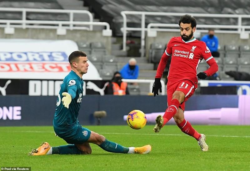 Salah, Mane, Firmino bó tay vì Darlow, Liverpool bị cầm hòa - ảnh 1