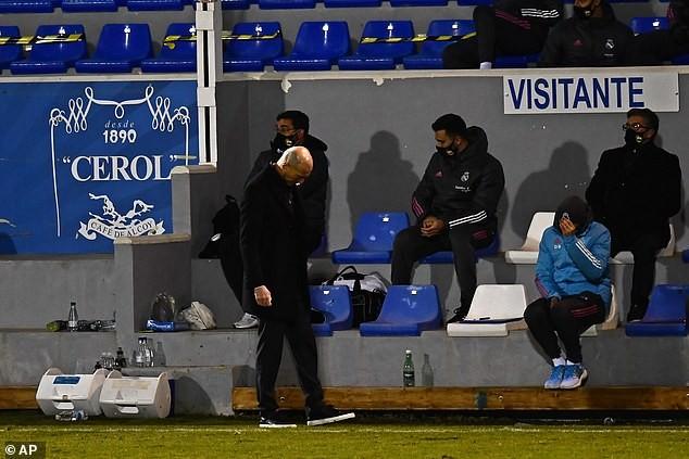 Real Madrid thua đội hạng ba, Zidane nói không xấu hổ - ảnh 3
