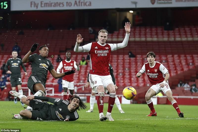 Hòa Arsenal, Solskjaer nói gì khi MU lập kỷ lục? - ảnh 3