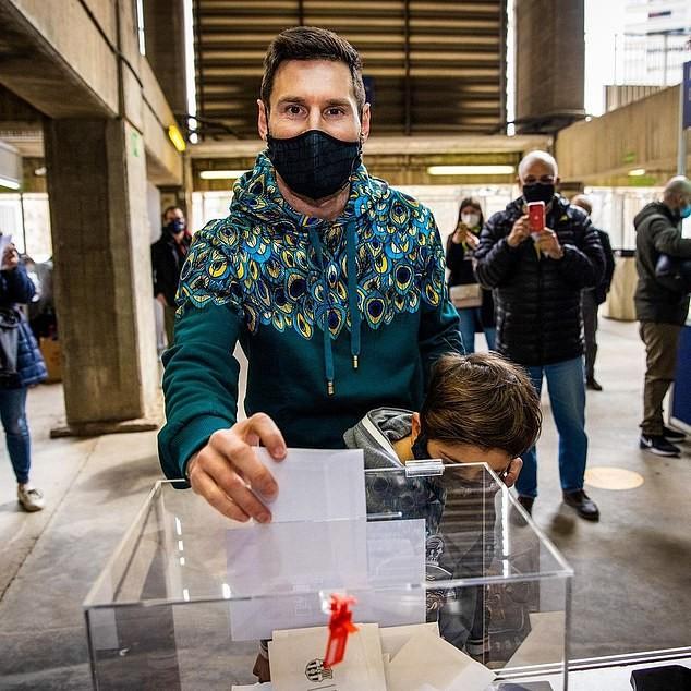 Barcelona có tân chủ tịch: Messi bỏ phiếu cho ai? - ảnh 3