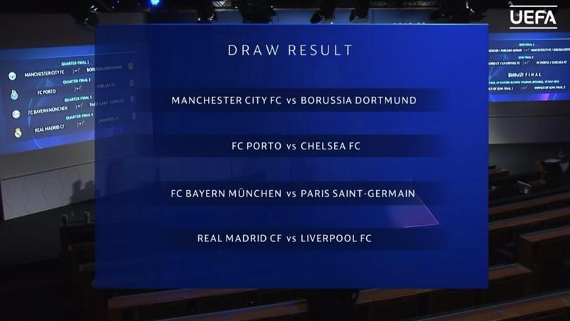Bốc thăm Champions League: Bayern - PSG, Real - Liverpool - ảnh 3