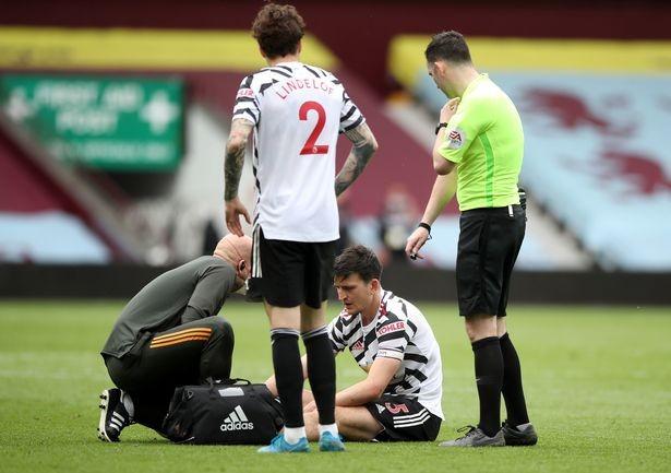 MU cập nhật tình hình chấn thương của Maguire - ảnh 1