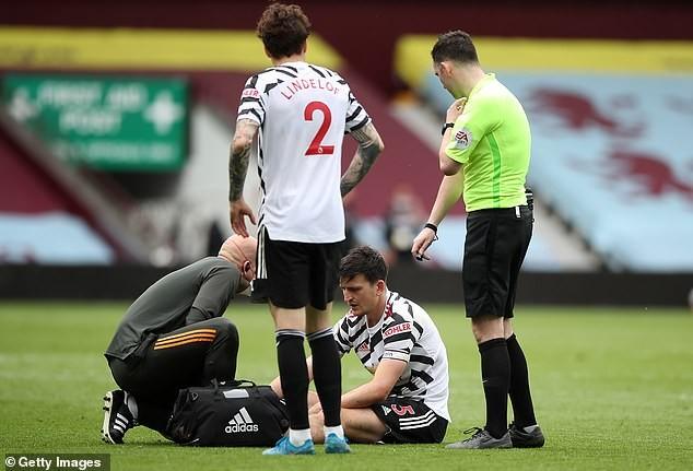 MU xác nhận tình trạng chấn thương nặng của Maguire - ảnh 3