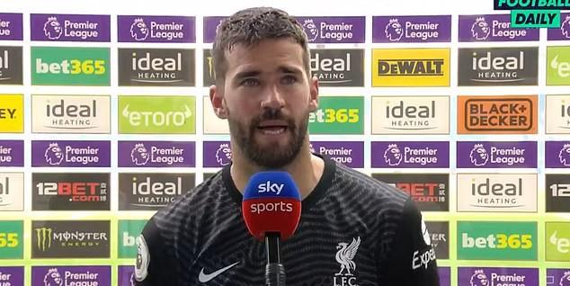 Thủ môn Alisson nói gì khi ghi bàn lịch sử cho Liverpool? - ảnh 3