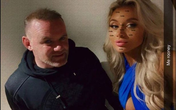 Bên trong khách sạn Rooney ngủ gật với gái lạ - ảnh 2