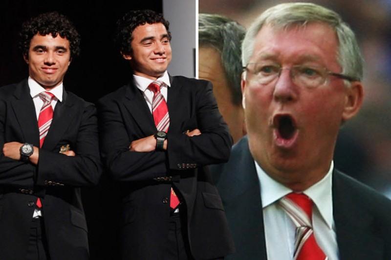 Sir Alex Ferguson mắc sai lầm, chửi thề vì cặp song sinh - ảnh 2