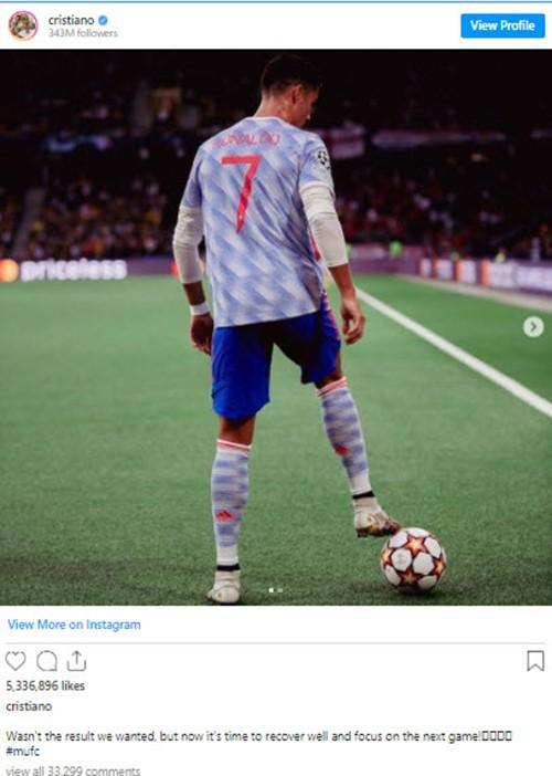 Ronaldo nói gì sau trận thua đau của MU? - ảnh 3