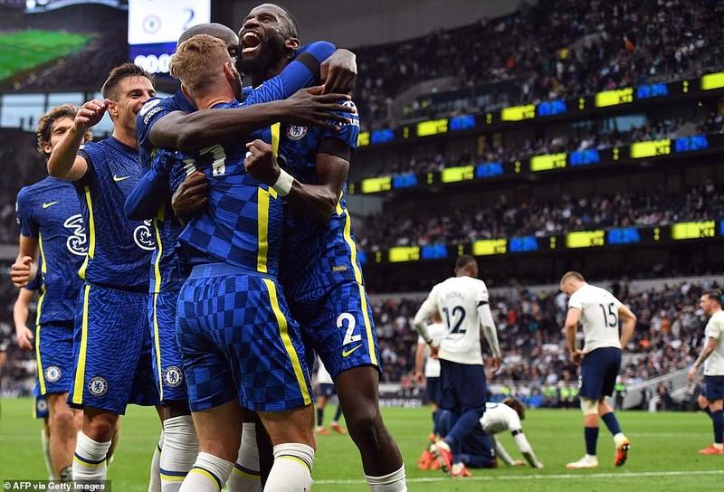 Hàng thủ 'lên đồng', Chelsea 'hủy diệt' Tottenham lên đỉnh Premier League - ảnh 6