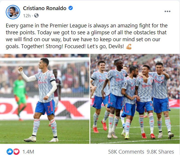 Ronaldo lên tiếng về trận chiến đáng kinh ngạc của MU - ảnh 4
