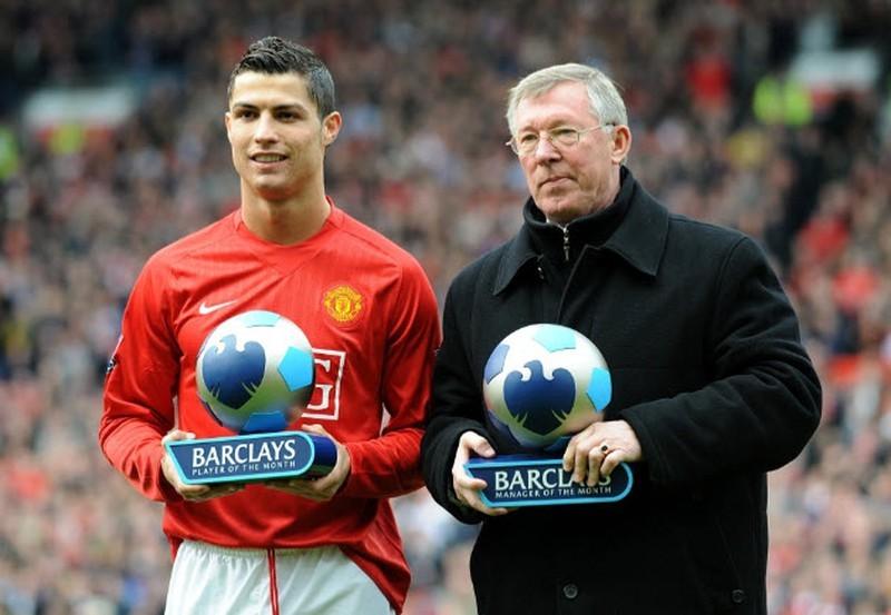 Sir Alex Ferguson đuổi Ronaldo ra khỏi sân tập - ảnh 3