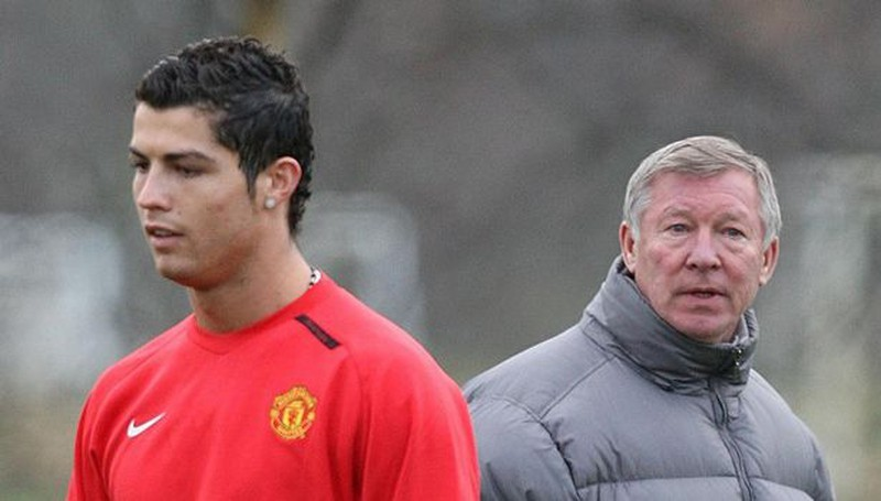 Sir Alex Ferguson đuổi Ronaldo ra khỏi sân tập - ảnh 4