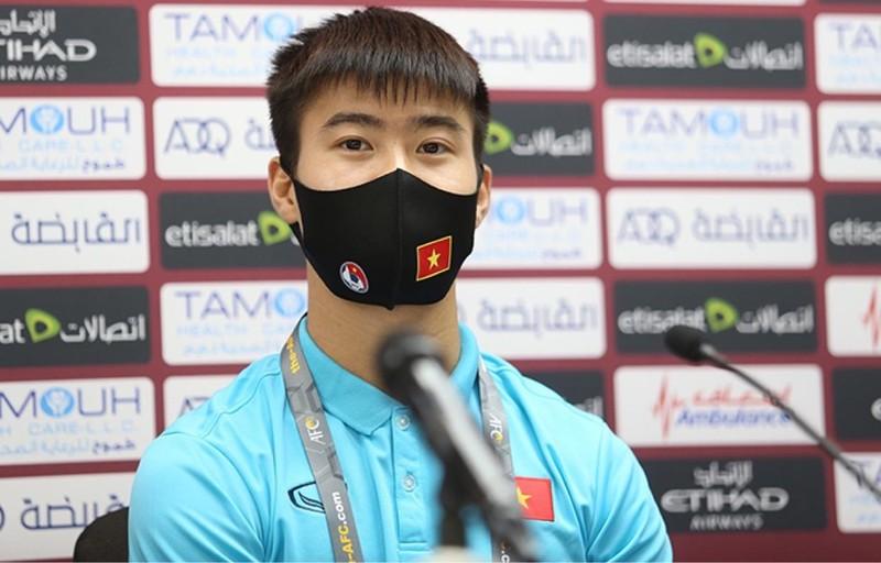 Vì sao thầy Park yêu cầu Duy Mạnh rời họp báo sớm - ảnh 2