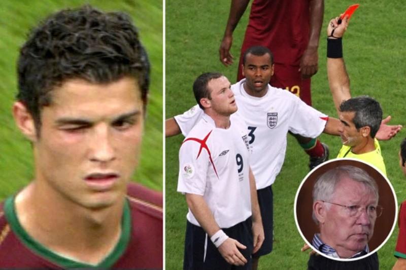 Sir Alex tiết lộ về cái nháy mắt của Ronaldo khiến đồng đội nhận thẻ đỏ - ảnh 6
