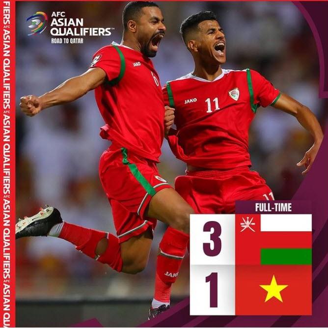 Hàng thủ liên tiếp sai lầm, tuyển Việt Nam thua ngược Oman, - ảnh 1