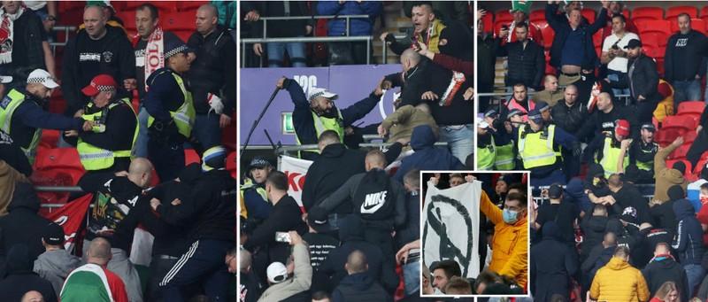 Bạo loạn trên sân Wembley - ảnh 2
