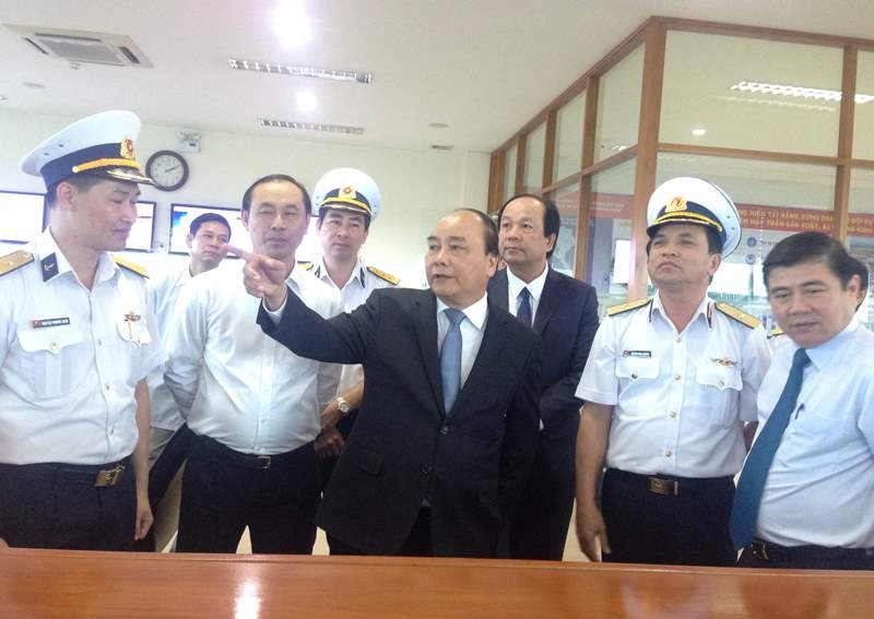 Thủ tướng làm việc với Tổng Công ty Tân Cảng Sài Gòn - ảnh 1