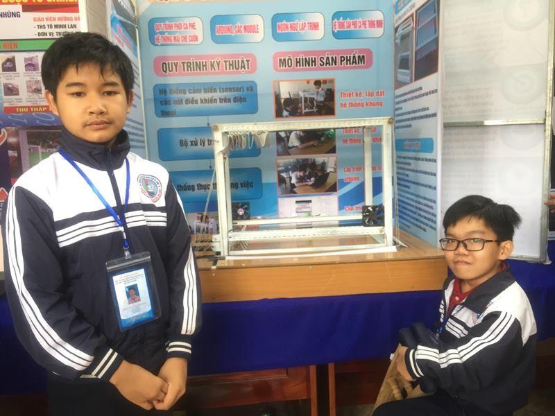 882 học sinh hào hứng dự thi khoa học kỹ thuật quốc gia - ảnh 2