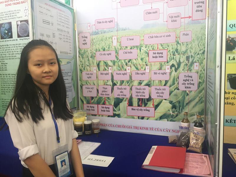882 học sinh hào hứng dự thi khoa học kỹ thuật quốc gia - ảnh 4