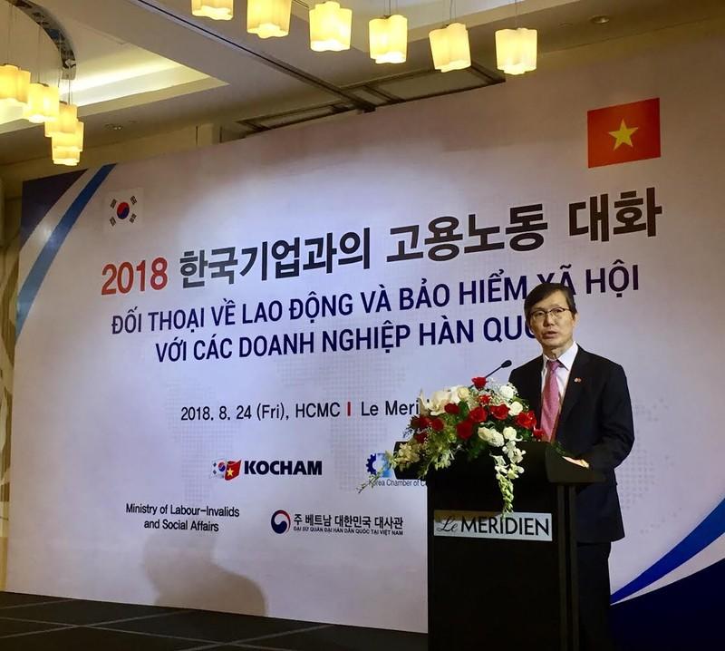 Doanh nghiệp Hàn kiến nghị chẻ nhỏ bậc lương - ảnh 2