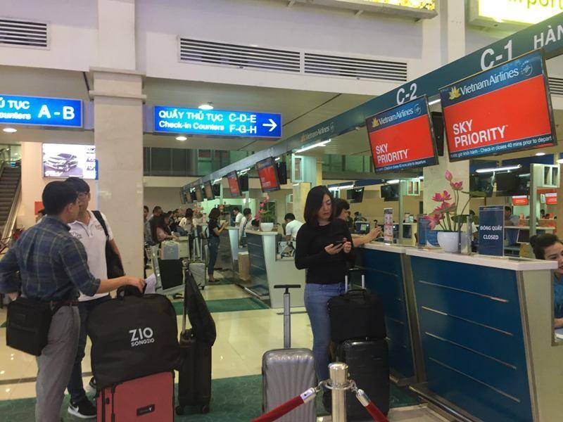 Các sân bay tăng cường an ninh dịp lễ 2-9 - ảnh 1