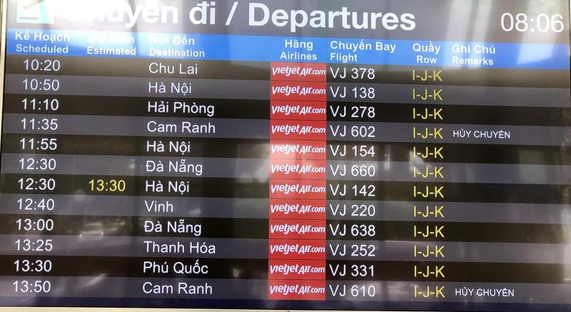Cục hàng không vào cuộc, các chuyến bay Vietjet có đúng giờ? - ảnh 3