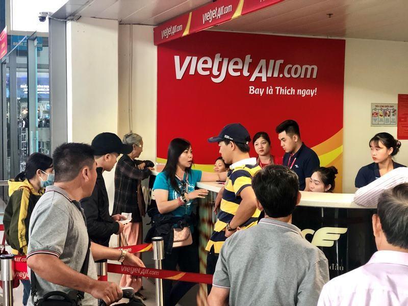 Cục hàng không vào cuộc, các chuyến bay Vietjet có đúng giờ? - ảnh 2