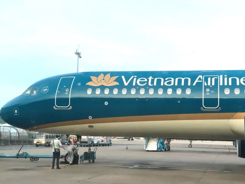 Máy bay Vietnam Airlines hạ cánh khẩn ở Ấn Độ để cứu khách - ảnh 1