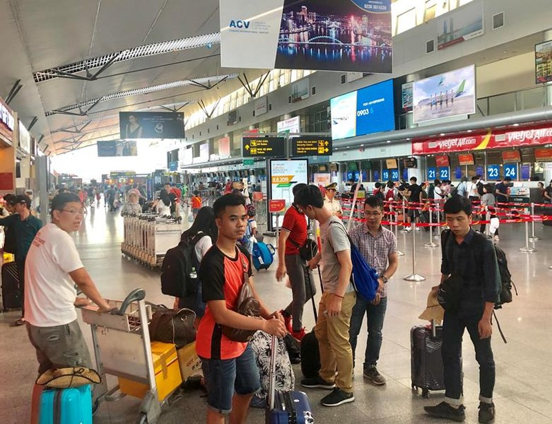 Sân bay Đà Nẵng sẽ ngưng phát loa thông tin chuyến bay - ảnh 1