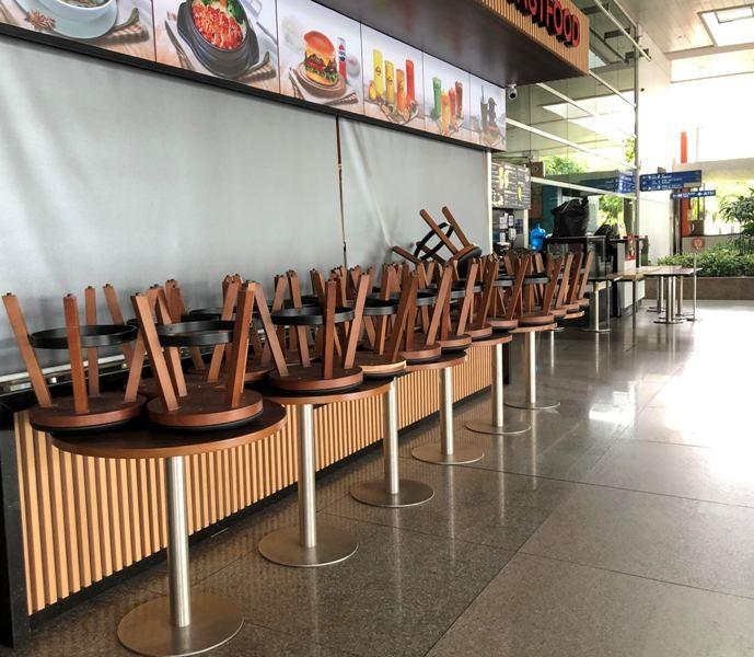 Cận cảnh sân bay phục vụ 38 triệu khách đìu hiu thời COVID-19 - ảnh 13