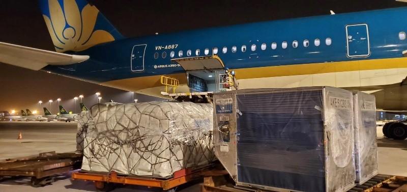 Hàng không Việt gia tăng chở hàng hóa để cải thiện doanh thu - ảnh 1