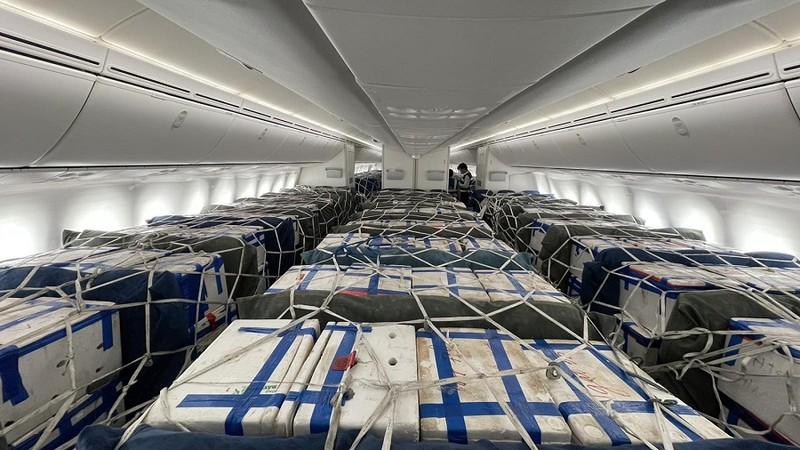 Khách giảm, ngành hàng không dùng khoang khách để chở hàng hóa  - ảnh 1