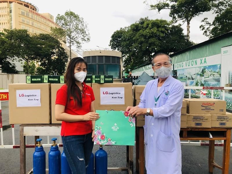 CEO tình nguyện chống dịch, tặng quà trung thu tại Bệnh biện Quân y 175 - ảnh 2