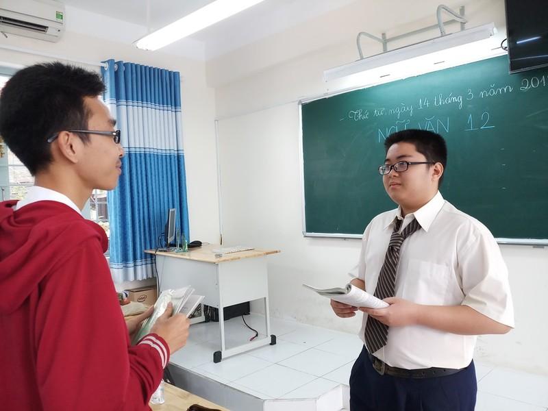 Học sinh hào hứng với 'Một ngày làm giáo viên' - ảnh 2