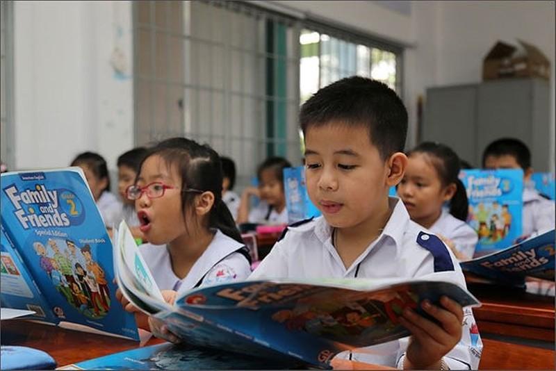 TP.HCM khuyến khích dạy tiếng Anh từ lớp 1 - ảnh 1