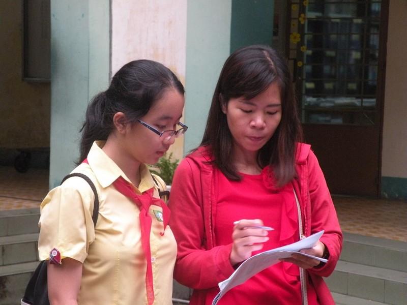 Cha mẹ, thầy cô đồng hành cùng các thí sinh - ảnh 5