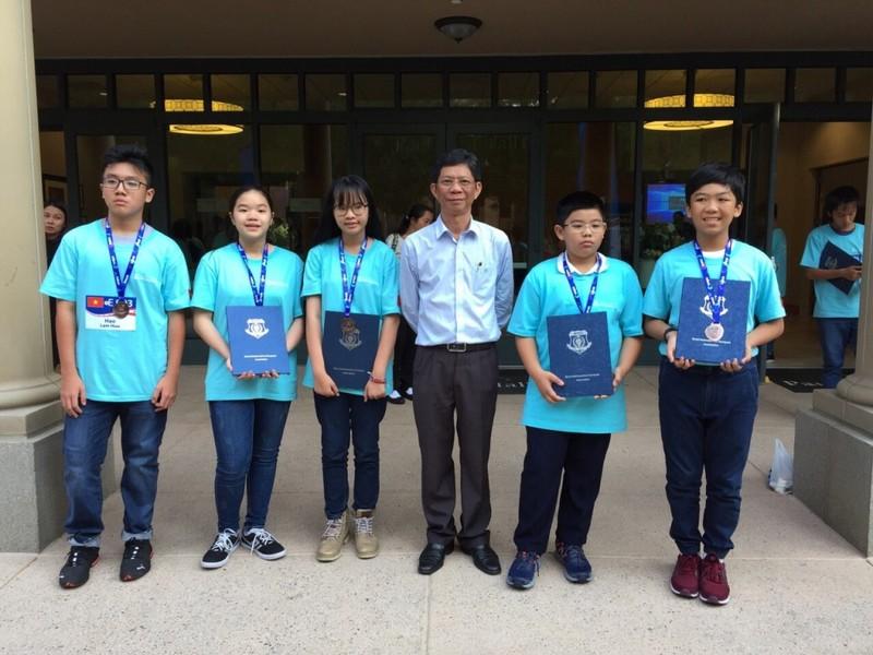 Việt Nam đoạt 1 HCB, 4 HCĐ cuộc thi toán học thế giới 2018 - ảnh 1