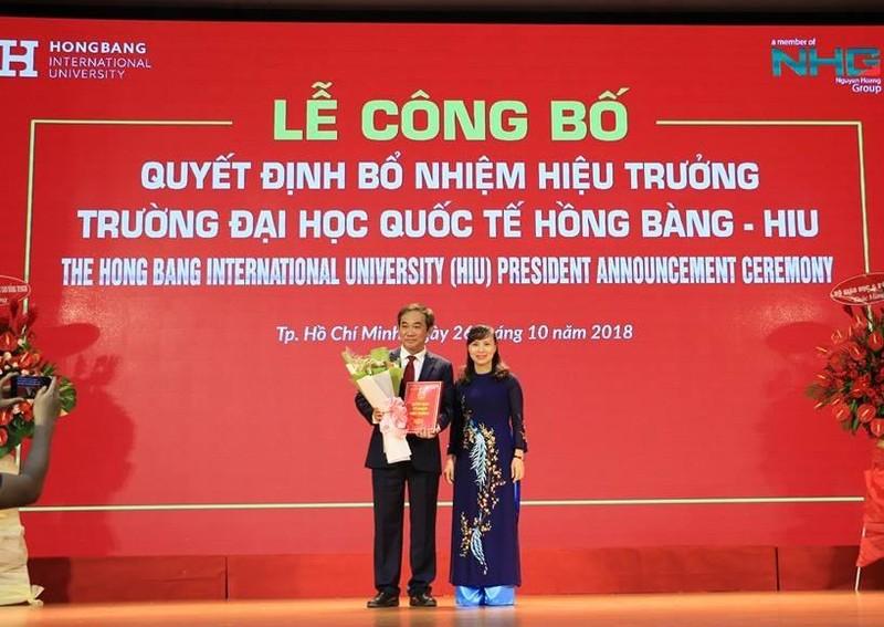 Đại học Quốc tế Hồng Bàng có hiệu trưởng mới - ảnh 1