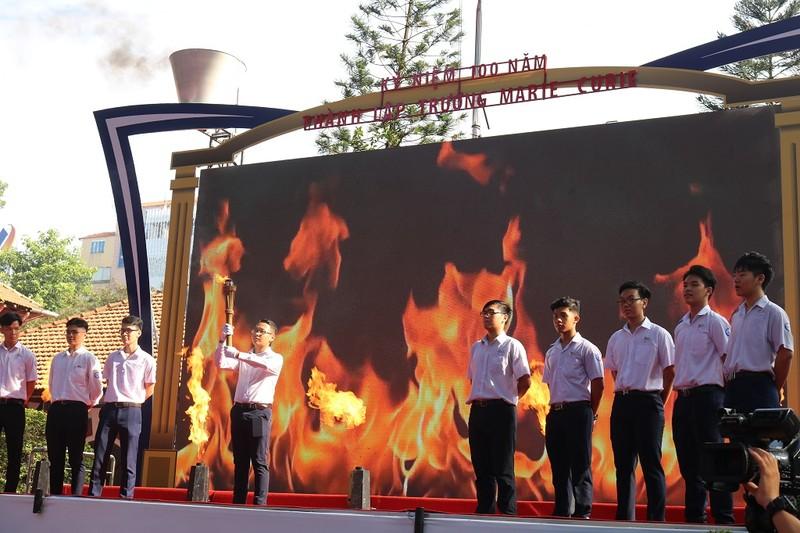 Ông Trương Hòa Bình dự kỷ niệm 100 năm thành lập trường Marie Curie - ảnh 4
