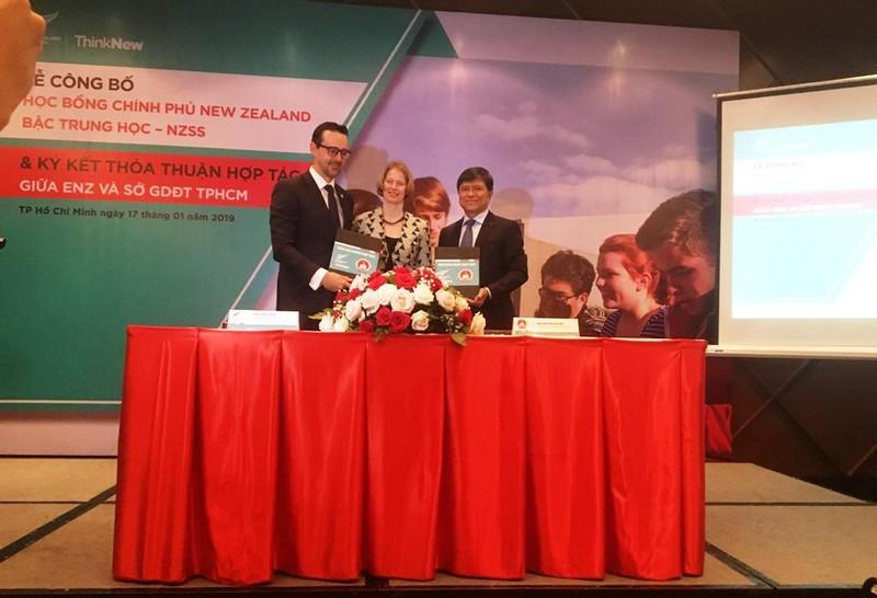 Lần đầu tiên học sinh Việt Nam được New Zealand cấp học bổng  - ảnh 1
