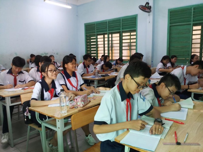 TP.HCM: Khảo sát chất lượng ngoại ngữ đầu ra học sinh lớp 9 - ảnh 1