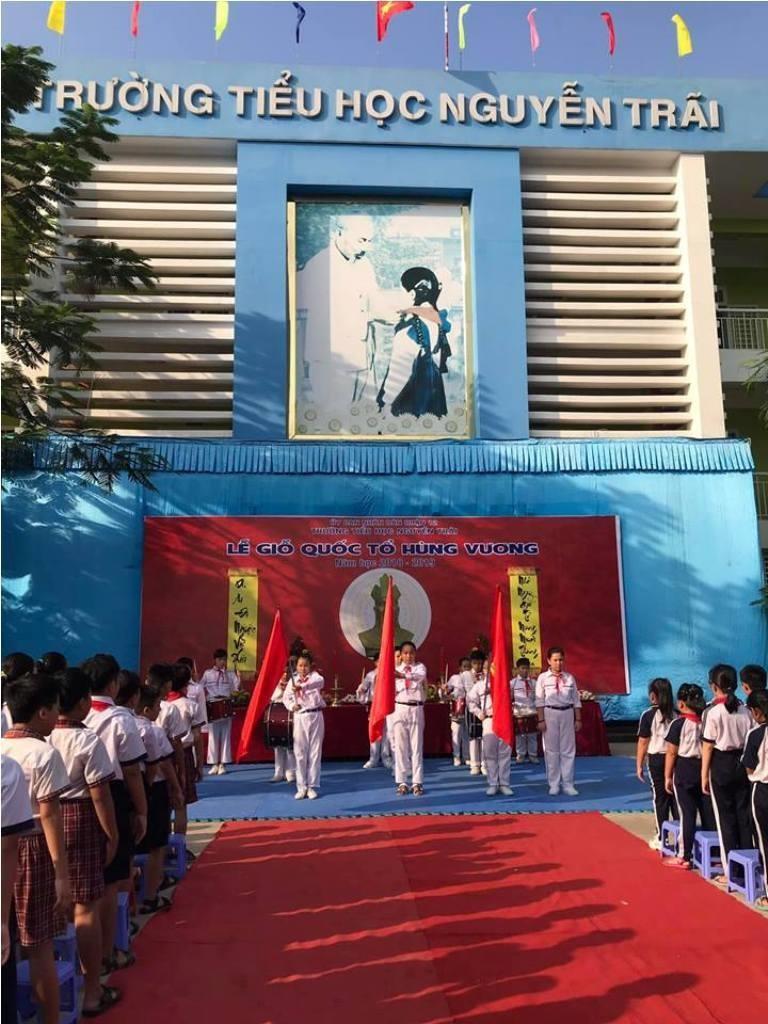 Nhiều trường học tổ chức trang trọng lễ Giỗ tổ Hùng Vương  - ảnh 2