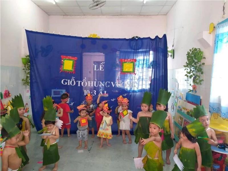 Nhiều trường học tổ chức trang trọng lễ Giỗ tổ Hùng Vương  - ảnh 8