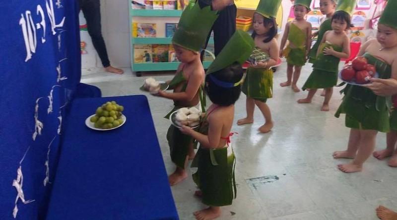 Nhiều trường học tổ chức trang trọng lễ Giỗ tổ Hùng Vương  - ảnh 9