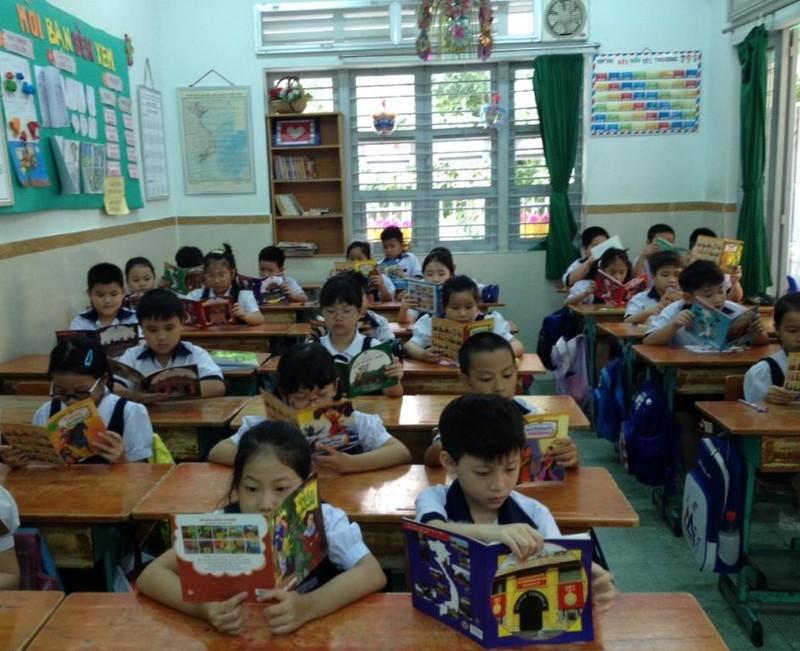 TP.HCM: Trường học chủ động tổ chức tiết đọc sách - ảnh 1