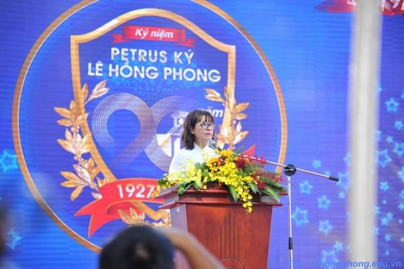 Hiệu trưởng chuyên Lê Hồng Phong xin nghỉ khi hết nhiệm kỳ - ảnh 1