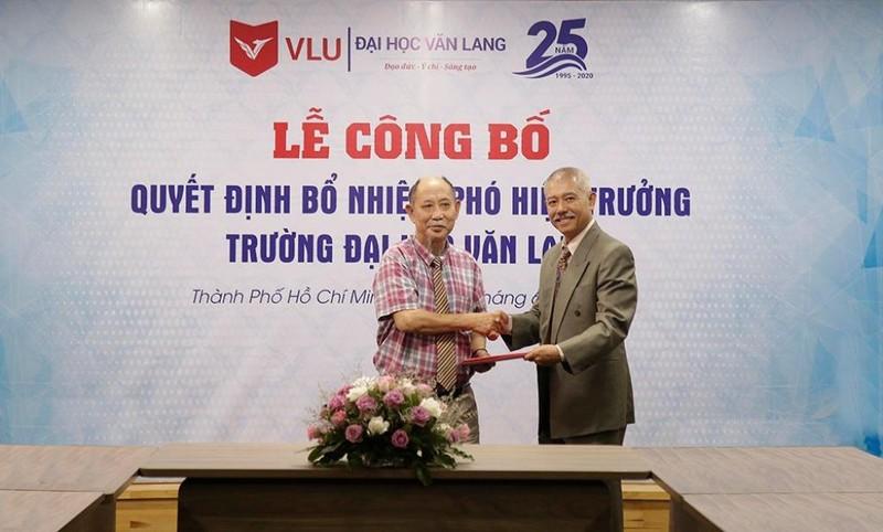 'Giáo sư quần đùi' làm Phó hiệu trưởng Đại học Văn Lang - ảnh 1