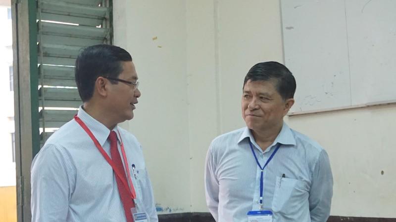 Thứ trưởng Nguyễn Văn Phúc chúc sĩ tử TP. HCM thi tốt - ảnh 5