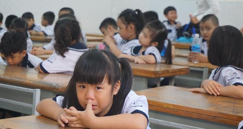 1001 cung bậc cảm xúc của học sinh lớp 1 trong ngày tựu trường - ảnh 9