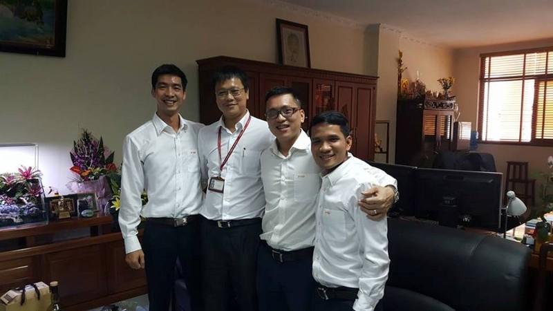 Trường ĐH Mỏ công bố loạt hình ảnh của Thứ trưởng Lê Hải An - ảnh 19
